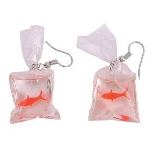 Gold Fish earrings